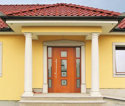 moderna lesena vrata